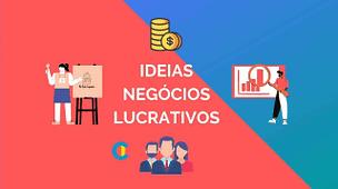 5 ideias de negocios lucrativos com baixo investimento