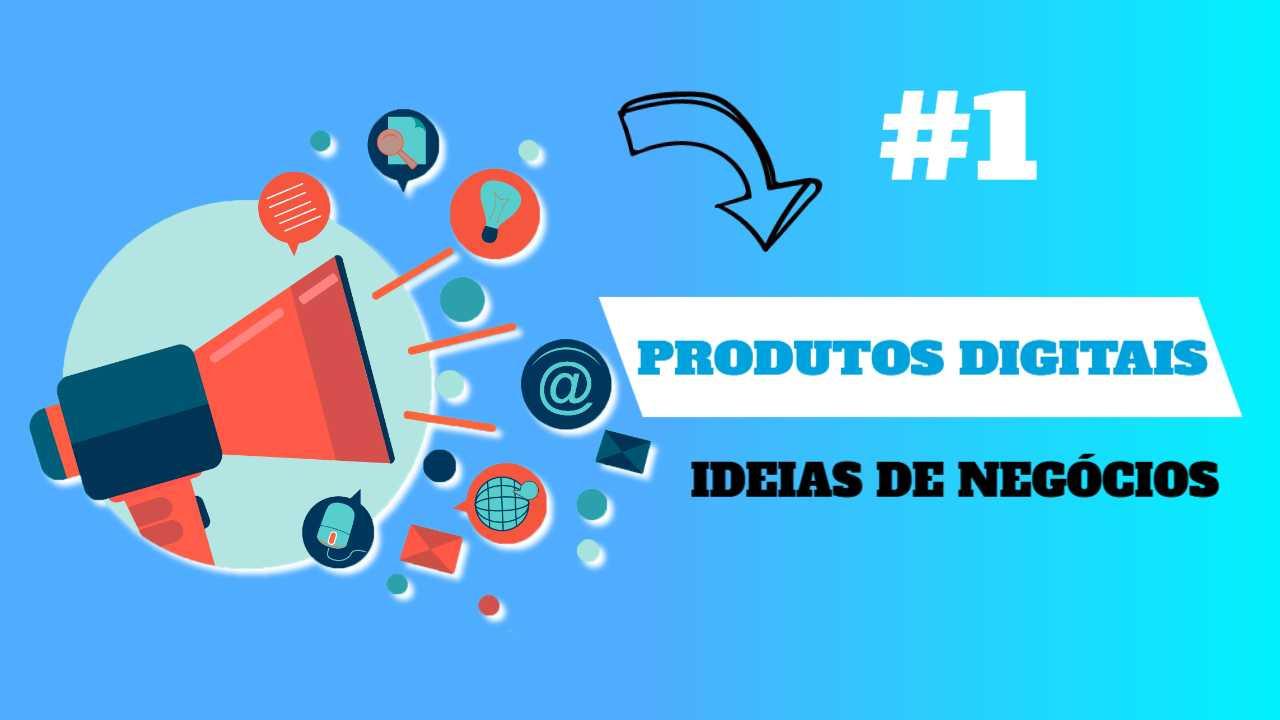 ideias de negocios com produtos digitais