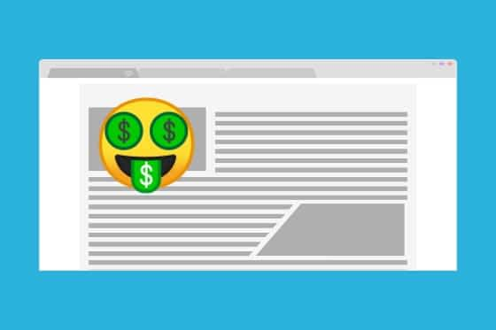 Como ganhar dinheiro com blog novo